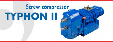 TYPHON II  - Screw compressor