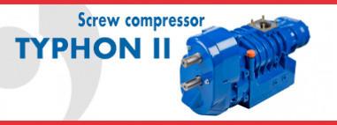 TYPHON II  - Screw compressor